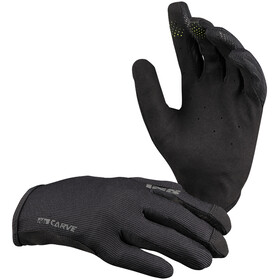 IXS Carve Gloves Kids, black